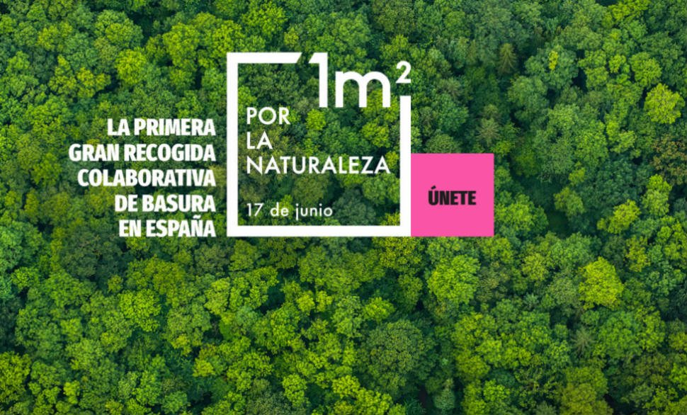 Spain launches LIBERA 1m2, the first large collaborative rubbish collection in Spain.