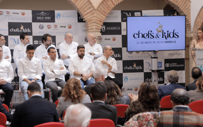 'Chefs & Kids' charity event brings 24 national chefs to Marbella