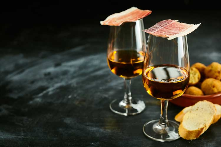 Blog post about sherry