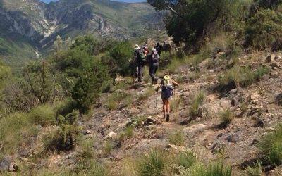 Hiking tracks in Marbella